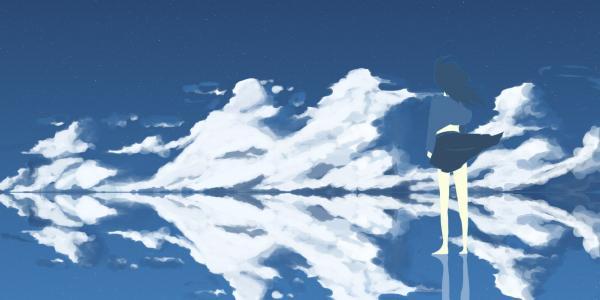 动漫云和风景壁纸