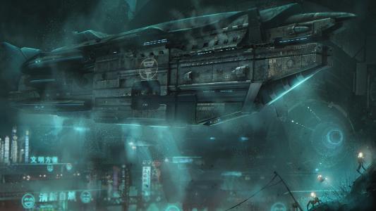 太空飞船高清壁纸