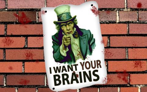 我想要你大脑的壁纸