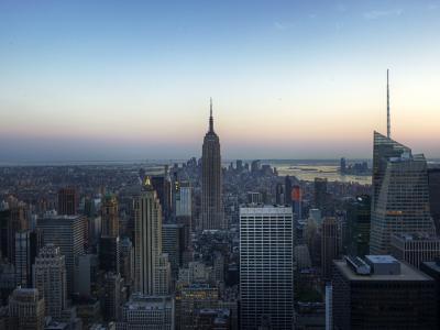 纽约日落壁纸