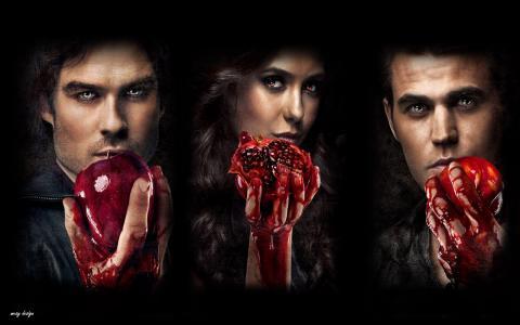 吸血鬼日记壁纸
