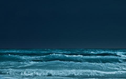黑暗的海壁纸