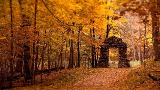 秋季风景高清壁纸