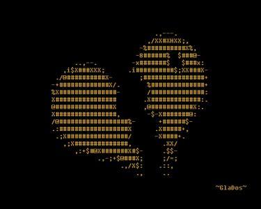 Ascii破碎的心壁纸