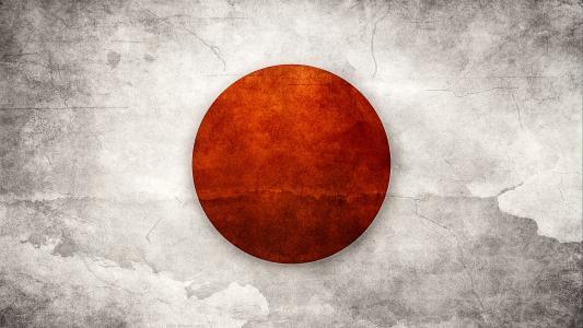 日本国旗高清壁纸