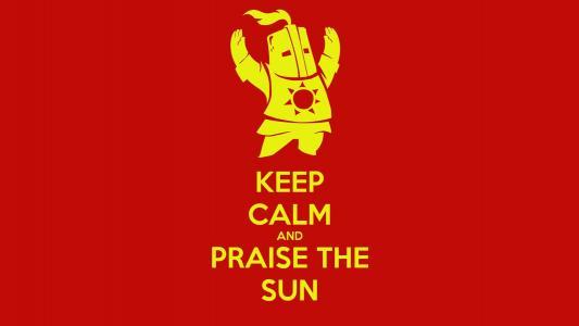 保持冷静,赞美太阳壁纸