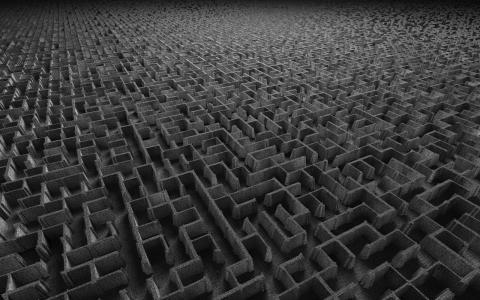 3d迷宫壁纸