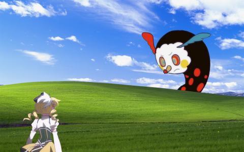 Windows Xp极乐修改壁纸