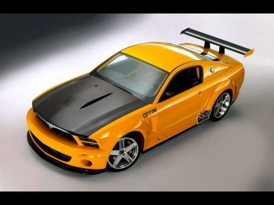 福特野马GTR壁纸