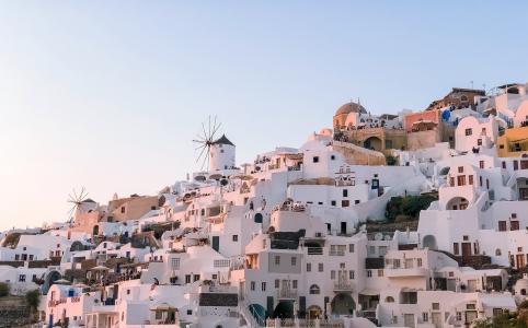 希腊圣托里尼美景