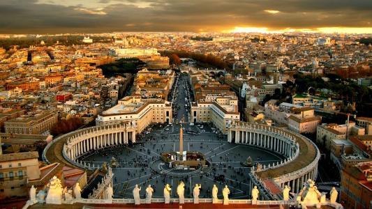 梵蒂冈城高清壁纸