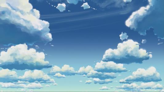 蓝蓝的天空和云彩高清壁纸