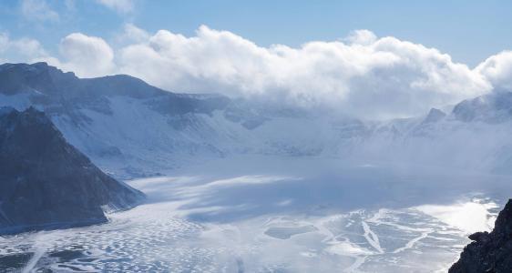 长白山优美迷人风光