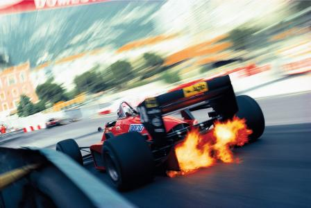 F1火焰壁纸
