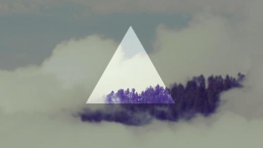 三角形艺术高清壁纸