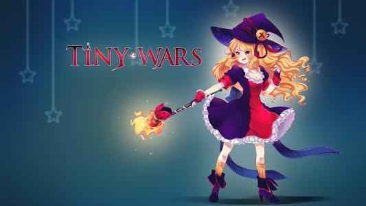 TinyWars壁纸女巫女孩壁纸
