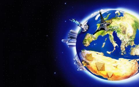 3d地球壁纸