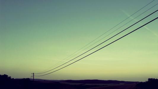 电力线路壁纸