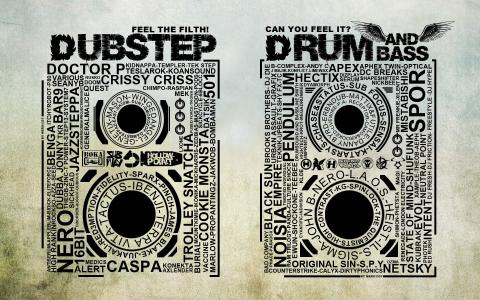 Dubstep和鼓和低音墙纸