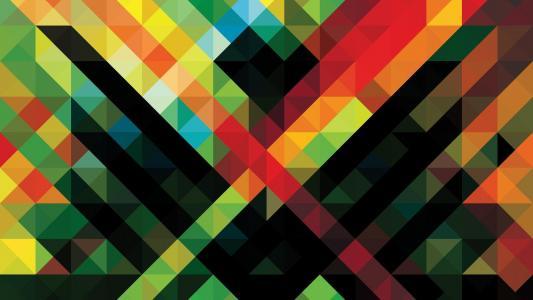 抽象多彩的高清壁纸