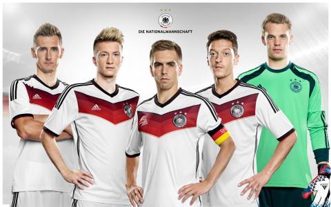 德国足球队壁纸