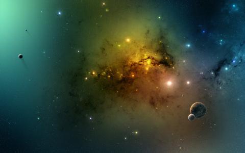 孤独的行星壁纸