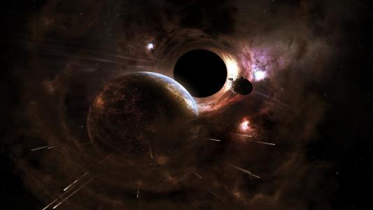 黑洞高清壁纸