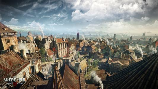 巫师3风景高清壁纸