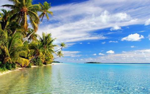 热带海滩壁纸