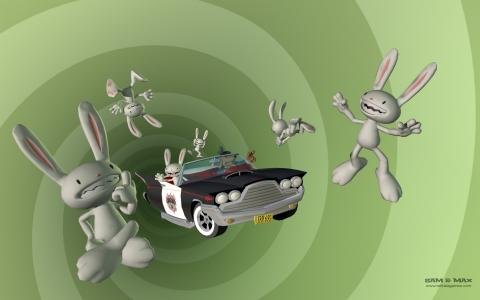 Sam & Max wallpaper