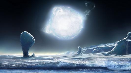 冰星球壁纸