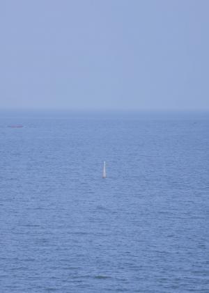 辽阔无边的大海风光